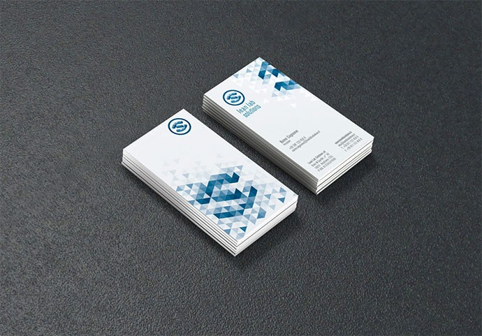 Business Card Lean Lab Solutions 1014