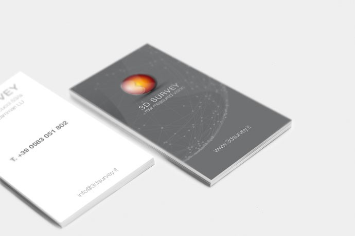 Business Card 3D Survey 1157