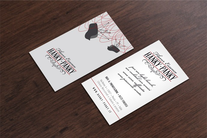Business Card Hanky Panky 551